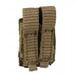 9mm Double Magazines Pouch (Khaki)