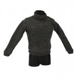 Turtleneck Sweater (Grey)