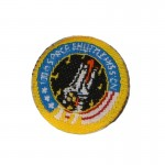 100th Space Shuttle Mission Patch (Yellow)