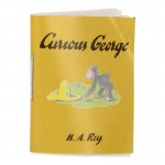 Curious George Book (Yellow)