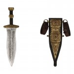 Diecast Pugio Dagger with Scabbard (Grey)