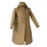 Worn Japanese Army Raincoat (Beige)