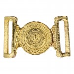 Diecast Scots Royal Guard Officer Belt Buckle (Gold)