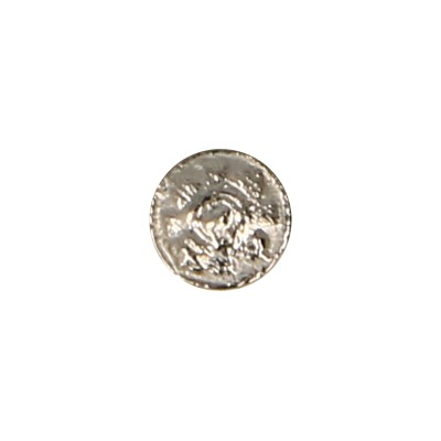 Diecast Magnetic Scots Royal Guard Officer Button (Silver)