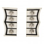Coldstream Royal Guard Officer Cufflinks (White)