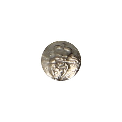 Diecast Magnetic Irish Royal Guard Officer Button (Silver)