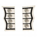 Grenadier Royal Guard Officer Cufflinks (White)