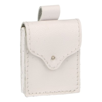 Leather Ammo Pouch (White)