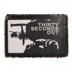 Thirty Seconds Out Patch (Black)