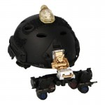 Ops-Core Helmet with AN/PVS-21 NVG (Black)