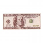 100 Dollars Banknote (Grey)