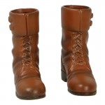 Buckle Boots (Brown)