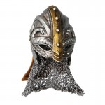 Diecast Viking Helmet (Grey)