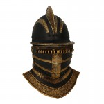 Diecast Red Dragon Royal Helmet (Black)