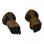 Royal Armored Gloved Hands (Grey)