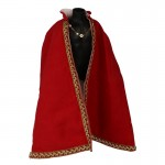 Velvet Royal Cape (Red)