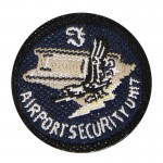 Airport Security Unit Patch (Blue)
