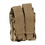 Double Flashbang MK13 40mm Lindnerhof Pouch (Desert Flecktarn)