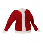 Kid Fur Santa Jacket (Red)
