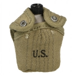 M42 Canteen with Pouch (Khaki)