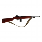 Wooden Diecast USM1 A Carbine Rifle (Brown)