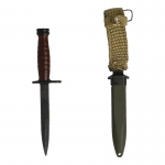Diecast USM4 Bayonet with Sheath (Black)
