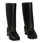 Leather Sapogi Marching Boots (Black)
