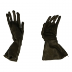 Leather Gloves (Olive Drab)
