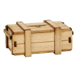 Wooden Ammo Case (Beige)