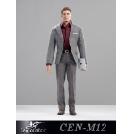 Business Man Suit Set (Grey)