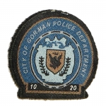 Gotham City Police Department Patch (Blue)