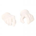 Gloved Hands (White)