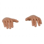 Caucasian Male Flexible Hands