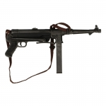 Diecast MP38 Submachinegun (Black)