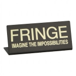 Magnetic Fringe Plate (Black)