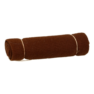 Rolled Blanket (Brown)