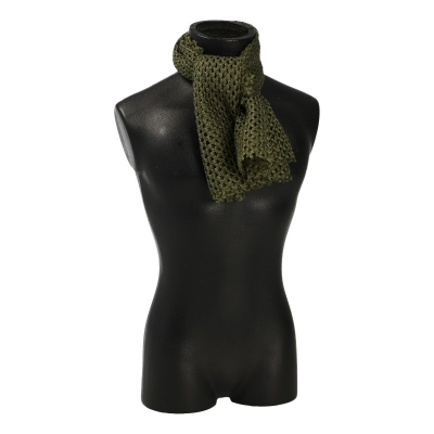 Net Scarf (Olive Drab)