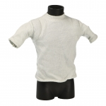 T-shirt with Shoulders Padding (Grey)