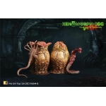 Xenomorph Egg with Facehugger and Chestburster (Beige)