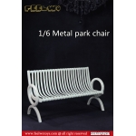 Diecast Park Chair (White)