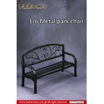 Diecast Park Chair (Black)