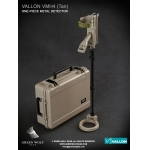 Diecast Vallon VMH4 Metal Detector with Case (Beige)