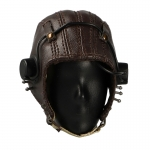 Leather USAAF AN-H-16 Flying Helmet (Brown)