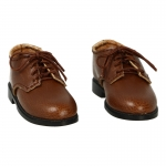 Leather Shoes (Brown)