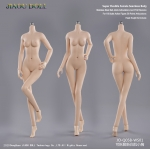 Caucasian Pale Female Super Flexible Seamless Body (Small Bust)
