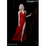 Evening Dress Set (Red)