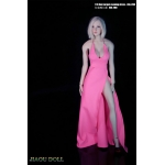 Evening Dress Set (Pink)