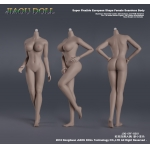 African Seamless Female Body (Large Bust)
