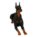 Doberman Pinscher Dog (Black)