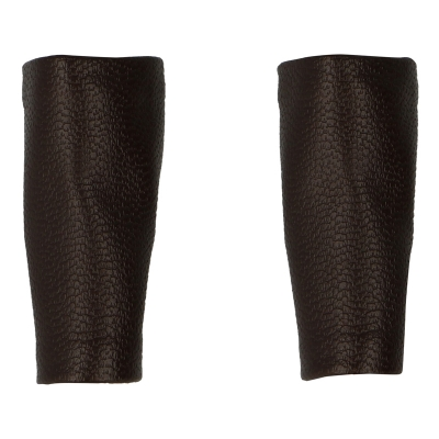 Leather Forearm Protections (Brown)